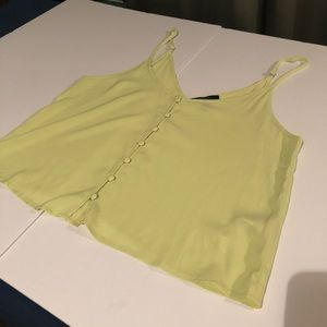 Light Green Button Camisole